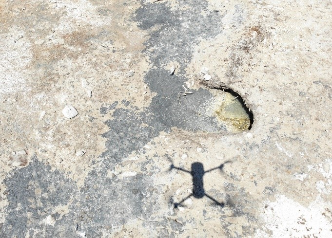 Picture of possible well location